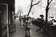 AA021 (heavyasmountains) Tags: nyc newyorkcity blackandwhite slr film 35mm photography nikon candid streetphotography noflash 24mm fm3a filmphotography streetstyle