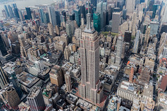 Empire (Andrew Thomas 73) Tags: nyc newyork photography state manhattan aerial empire flynyon