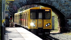 Merseyrail 508136 (North West Transport Photos) Tags: train br emu britishrail pep 507 ormskirk 508 brel merseyrail electricmultipleunit liverpoolcentral 508136 mpte class508 merseyrailelectrics 508036 2o25