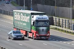 Eddie Stobart 'Lily Lola' (stavioni) Tags: truck mercedes benz lily lola lorry eddie trailer actros stobart gn14wld h3348