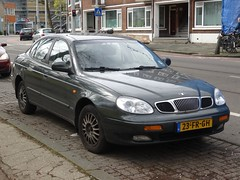 2000 Daewoo Leganza (harry_nl) Tags: netherlands rotterdam nederland daewoo 2016 leganza sidecode6 23frgh