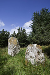 Standing Stones between Beaghmore and Lough Fea off Slaght Road (backpackphotography) Tags: ireland megalithic photography ancient standingstones rocks stones tomb londonderry backpack prehistoric derry megalith beaghmore northern ireland slaght loughfea
