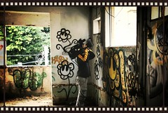 INSPIRE - StreetArt Documentary (Process) (www.InspireCollective.com) Tags: flowers streetart flower building art abandoned project painted tel aviv over arts documentary icon east take middle inspire abandonment abandonedbuilding nir itw 5monthslater reuseproject2 reuseproject25monthslater