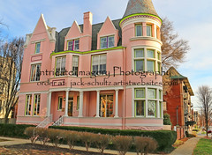 Pink Mansion St James Court Old Louisville  1935 (intricate_imagery-Jack F Schultz) Tags: pinkpalace victorianhouse louisvillekentucky stjamescourt jackschultzphotography intricateimageryphotography