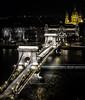 Chain Bridge / Budapest (ercan.cetin) Tags: longexposure nightphotography travel bridge travelling night landscape hungary nightlights nacht budapest chain langebelichtung niftyfifty hungarn