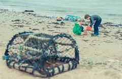 _DSC8900 (David Soanes Photography) Tags: sea holiday beach sand nikon martha ethan dorset april buckets 28 knoll 70200 d3 studland 2016