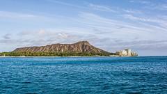 Diamond Head - Oahu (Oliver Leveritt) Tags: cruise mountain hawaii scenery waikiki oahu kitlens diamondhead honolulu nahokuii afsdxnikkor1855mmf3556gvr oliverleverittphotography nahoku2 nikond7100