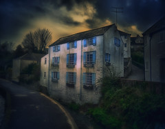 Lyme Regis (martin_rees) Tags: building mill architecture clouds river path dorset nik sureal lymeregis hdrtoning hdrefex