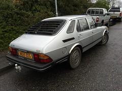 B825 EEG (2) (Nivek.Old.Gold) Tags: 1985 saab 900 5door 5speed 1985cc