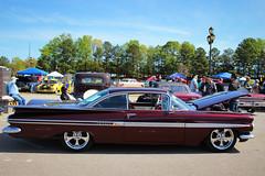 1959 Chevy Impala (osubuckialum) Tags: show cars chevrolet nc northcarolina raleigh chevy hotrod annual custom impala carshow 59 1959 goodguys northcarolinastatefairgrounds northcarolinanationals