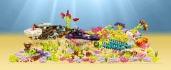 The Boonta Reef Classic (cecilihf) Tags: ariel starwars lego sebastian princess mashup disney mermaid flotsam eel ursula moc jetsam podracing sebulbawithevenmorearms podracingisawesome