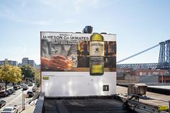 Jameson (Always Hand Paint) Tags: nyc brooklyn advertising mural outdoor whiskey pop spirits williamsburg ooh handpaint colossal jameson colossalmedia muraladvertising b146 spiritswine skyhighmurals alwayshandpaint