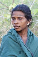 Baiga woman (wietsej) Tags: portrait woman tribal baiga minolta100mmf28dafmacro konicaminoltamaxxum7digital