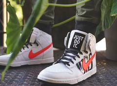 UNDFTD Nike Dunk Lux (Timothy McAuliffe) Tags: street stilllife plants newyork art fashion basketball brooklyn garden landscape shoe prime leaf cityscape sony gear nike wear sneaker greenery hoops lux kith dunks dunk swoosh doverstreetmarket undftd