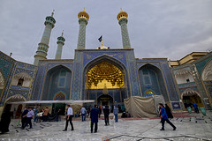 Shrine of Hazrat-e Masumeh, Qum (T   J ) Tags: iran fujifilm qom qum xt1 teeje fujinon1024mmf4