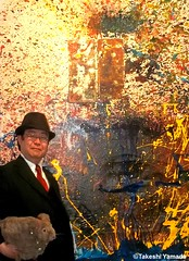 Dr. Takeshi Yamada and Seara (Coney Island Sea Rabbit) at the Chelsea art gallery district in Manhattan, New York on May 12, 2015.  20150512 007=C2 (searabbits23) Tags: ny newyork sexy celebrity rabbit art hat fashion animal brooklyn asian coneyisland japanese star tv google chelsea king artist gallery dragon god manhattan famous gothic goth uma ufo pop taxidermy vogue cnn tuxedo bikini tophat unitednations playboy entertainer oddities genius mermaid amc mardigras salvadordali performer unicorn billclinton seamonster billgates aol vangogh curiosities sideshow jeffkoons globalwarming mart magician takashimurakami pablopicasso steampunk damienhirst cryptozoology freakshow seara immortalized takeshiyamada roguetaxidermy searabbit barrackobama ladygaga climategate  manwithrabbit