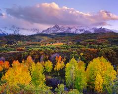Dallas Divide (AlexBurke) Tags: autumn sunset mountains fall film landscape san colorado juan kodak large 4x5 format aspen ektar