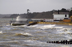 Stormy seas (New Forest Man) Tags: beach hampshire solent defences seas lepe southamptonwater