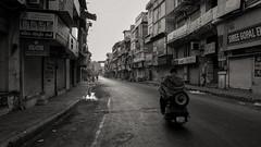 Old city street on a winter morning.. (mehtasunil) Tags: street leica city travel urban streetphotography ahmedabad leicacamera wintermorning indiapictures leicalens leicaq leicaforum leicaimages lifewithleica indiashutterbugs