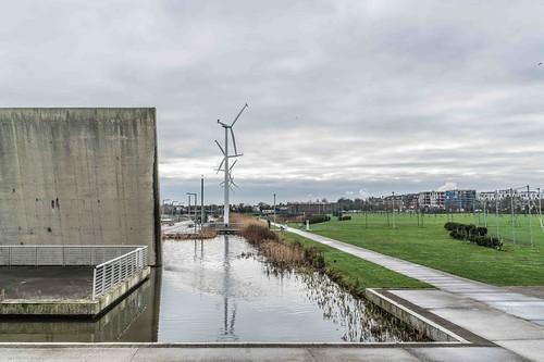Wind Powered Public Park In Clongriffin Dublin [Father Collins Park]-110984