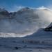 Chegando no Glaciar Athabasca