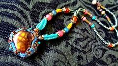 Beadiful (AowDusdee) Tags: necklace beadwork beadjewelry