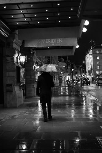 The man with the umbrella ©  Still ePsiLoN