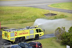 Air Services Australia ARFF \ Rosenbauer Panther 6x6 \ Tender 2 (coghilla) Tags: 2 6x6 airport aviation air australia panther tender services aerodrome ool rosenbauer airside arff goldcoastairport ybcg