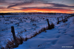 Prairie Serenity (JA Photography - Be There, Out There) Tags: sunset canada alberta prairie canadianrockymountains rockymountainssunset