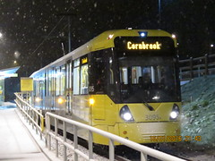 Manchester Metrolink 3095 at Sale Water Park (Barrytaxi) Tags: