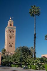 Marrakech (Nikosan Photographie) Tags: voyage trip travel photography photo photographie minaret morocco maroc mosquee koutoubia mosquée