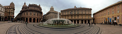 Piazza De Ferrari (Vitto P.) Tags: italy de italia liguria ferrari genoa genova piazza della palazzo borsa fontana ducale regione