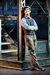 "Joey Barreiro (Jack Kelly) in the Broadway Sacramento presentation of ""Newsies"" at the  Sacramento Community Center Theater April 12 – 17, 2016.  ©Disney.  Photo by Deen van Meer."