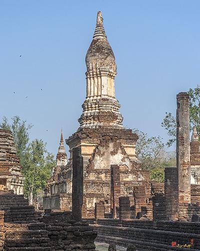 Wat Chedi Ched Thaeo Main Chedi (DTHST0132) วัดเจดีย์จ็ดแถว เจดีย์ประธาน