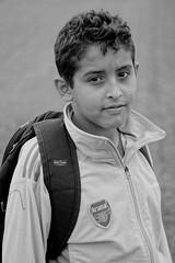 algerian childhood... (Amine Ounnas Photography) Tags: youth children algeria blackwhite child sad sight eltarf