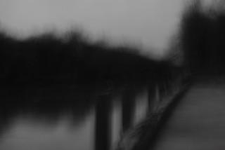 Pier in Rain