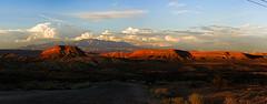Black Rock Utah (theeqwlzr) Tags: sunset sky mountain beautiful clouds landscape utah crazy amazing colorful desert outdoor hill bluesky wilderness wtf canonrebelxti blackrockutah
