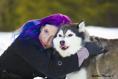 _MG_3937 (Dun By Kaitlin) Tags: winter pets snow love dogs animals forest hair fur woods husky purple