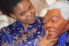 DSC_9365 PM from South Africa Chinese Oriental Blue Satin Robe Studio Photo Shoot London Portrait Memories of Nelson Mandela RIP (photographer695) Tags: africa from blue portrait london studio photo shoot robe south memories chinese nelson oriental satin pm mandela