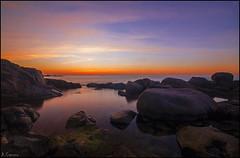 Espejo de la maana (antoniocamero21) Tags: color marina mar agua foto sony paisaje girona amanecer catalunya calella