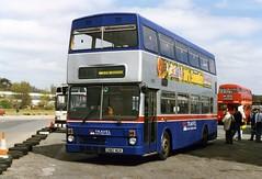 Travel West Midlands 2912 (Vernon C Smith) Tags: travel west rally cobham midlands metrobus brooklands