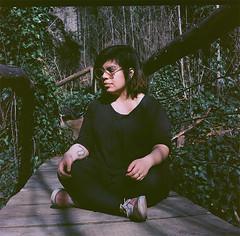 Mariana (www.marianafuenteszamorano.com) Tags: portrait film argentina analog mediumformat buenosaires grain 400asa 120mm kodakfilm rolleicord ilovefilm kodal filmnotdead