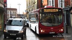 First Day Teething Problems: Transdev Harrogate YK04 JYL 1704 (WY Bus Spotter) Tags: bus 1 day transport leeds first wright harrogate 36 ripon 1704 wrightbus transdev b7rle the36 yk04jyl