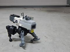 KELOID II MilTech Robotic Weapons Platform (2) (ScriptKitt3h) Tags: lego walker artillery mecha cyberpunk mech drone keloid blr metalstorm miltech cyberdongk droneuary