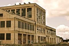 once was (J.R.P) Tags: abandoned graffiti factory bricks 1954 spooky nsw disused derelict grafton unused nikond3200 railwaylines 19541976 peterscreamery peterscreamerygrafton