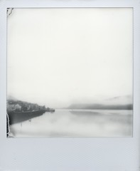 Winter's Morning, Fort William (Mark Rowell) Tags: film polaroid sx70 scotland highlands instant fortwilliam lochlinnhe