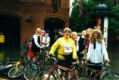 Albert Square (flowerpotman!) Tags: film manchester cycling 2000 kodak scan cc cycle trans blackpool pennine transpennine tpcc