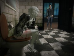 Privacy (NovaMoonshine) Tags: life pee nova sl secondlife second piss invasion peeing privacy invaded