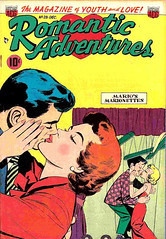 Romantic Adventures 28 (Michael Vance1) Tags: woman man art love comics artist marriage romance lovers comicbooks relationships cartoonist anthology silverage