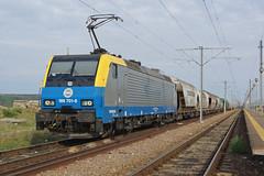 189.701 Dorobantu/Romania (Gridboy56) Tags: railroad electric train europe siemens trains romania locomotive railways locomotives 189 dorobantu railfreight 189701 cargotransvagon